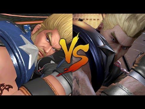 KOF AS vs Tekken 7 - Paul Phoenix Comparison