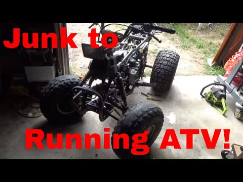 $200 Honda TRX200SX, Bought for Parts, Will It Start, Run, and not Leak Oil?