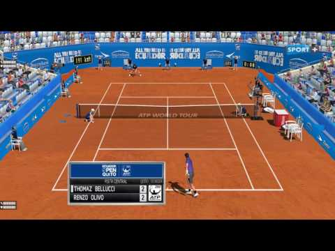 Bellucci - Olivo | Quito Open 10.02.2017 | Tennis Elbow 2013 Gameplay