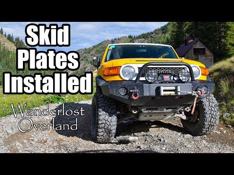 Episode 10; Installing Skid Plates Toyota FJ Cruiser RCI Off Road
