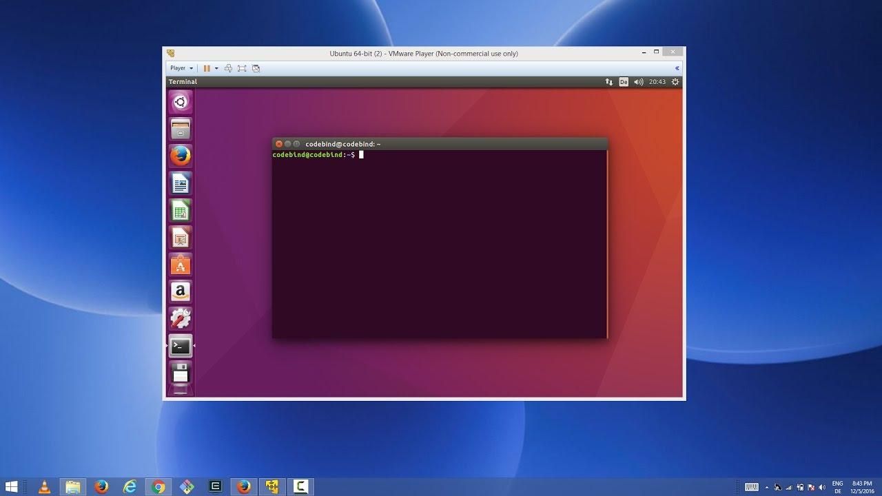 install ubuntu on windows