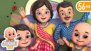 i love my family | mummy ki roti gol gol  | hindi rhymes for children by jugnu kids