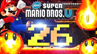NEW SUPER MARIO BROS U - #26 - Große Lava Probleme
