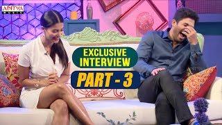 Exclusive Interview With Allu Arjun & Pooja Hegde | Part-03 | Aditya Music | DSP | Harish Shankar
