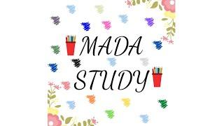 ¡¡¡BIENVENIDOS A MI CANAL!!! l MADA Study