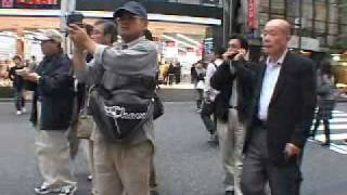 10/26 渋谷、逮捕前に打ち合わせするデカ thumbnail