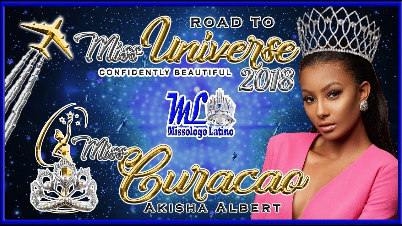 Miss Universe Curacao 2018 - Akisha Albert - Road To Mu 2018