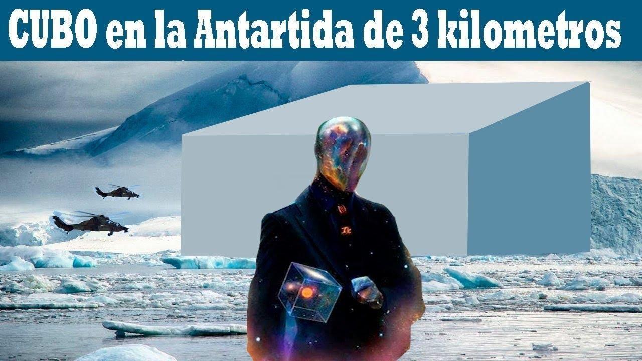 LA ANTÁRTIDA y EL CUBO DE 3KM CÚBICOS DE VOLUMEN QUE SE ENCUENTRA MÁS ALLÁ DE LA ZONA MUERTA