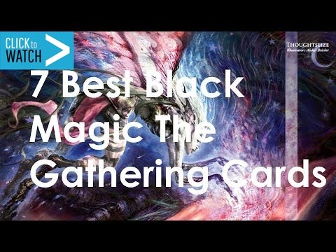 7 Best Black Magic the Gathering Cards