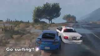 GTA 5 Epic Police Chase (PS4)