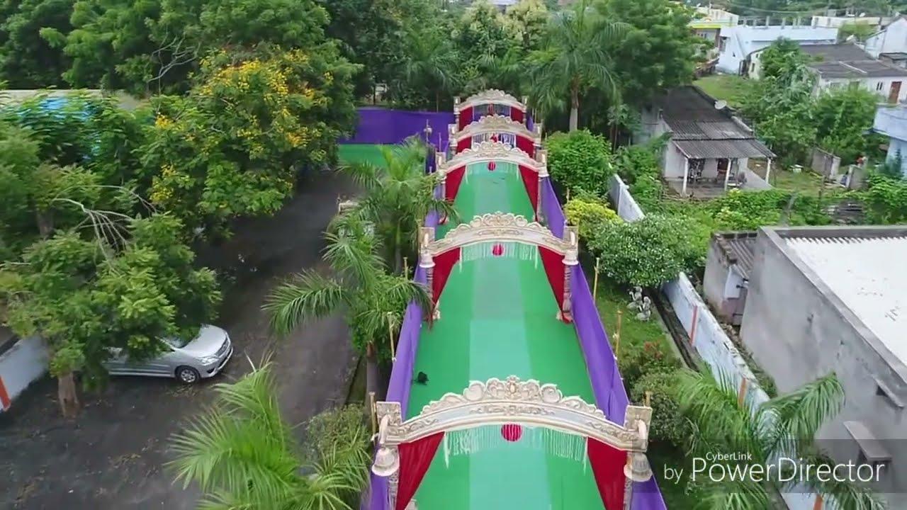 Marriage Decoration in Manuguru/Kinnara kalyana mandapam - YouTube for Pelli Mandapam Vedika Stage Decorations  288gtk