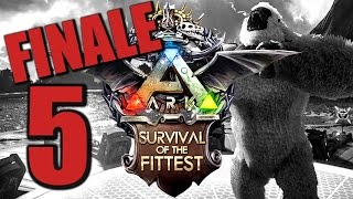 Ark Survival of the Fittest #5 KRANKES FINALE [Gameplay German | Let