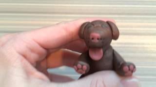 Обзор на мини реборна сделанный своими руками/ мини реборн собака