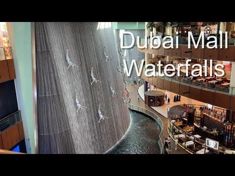 Dubai mall waterfalls #2 – Dubai – United Arab Emirates