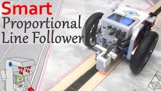 Speed-Adjusting Proportional Line Follower - EV3 Navigation with Bendik Skarpnes