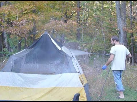Complete tent repair. Fixing poles. Sealing seams. Waterproofing floor how to waterproof tent etc : tent seam repair - memphite.com