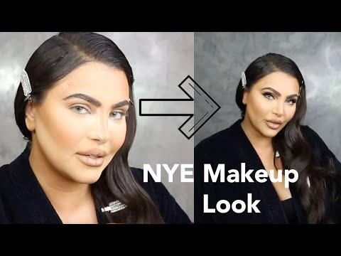 Hrush NYE Get Ready With Me - Outfit and Makeup Tutorial