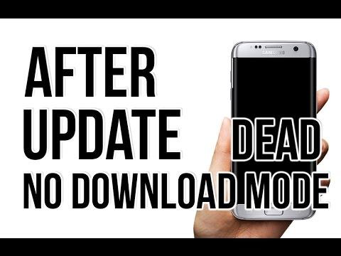 Dead after update, UNRESPONSIVE KEYS SAMSUNG MOBILE, ( Black screen ), no  Download mode