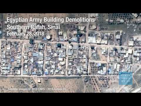 Egypt: Army Building Demolition in Southern Rafah, Sinai