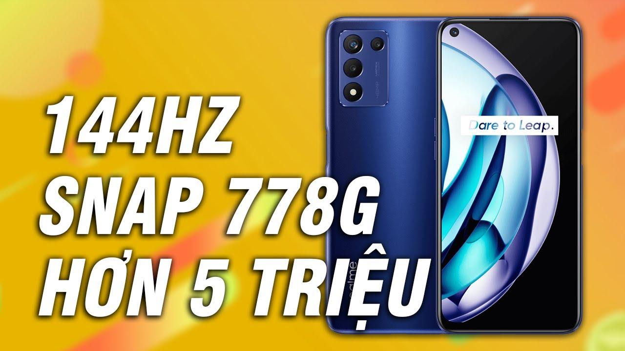 Realme Q3s ra mắt: Hơn 5 Triệu đã có SNAP 778G, 144Hz xịn rồi sao?