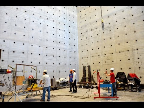 University of Kansas School of Engineering Structural Testing Research