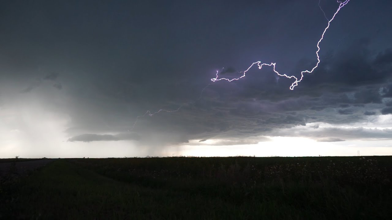 Beautiful Lightning on Saskatchewan Storm | August 12, 2020