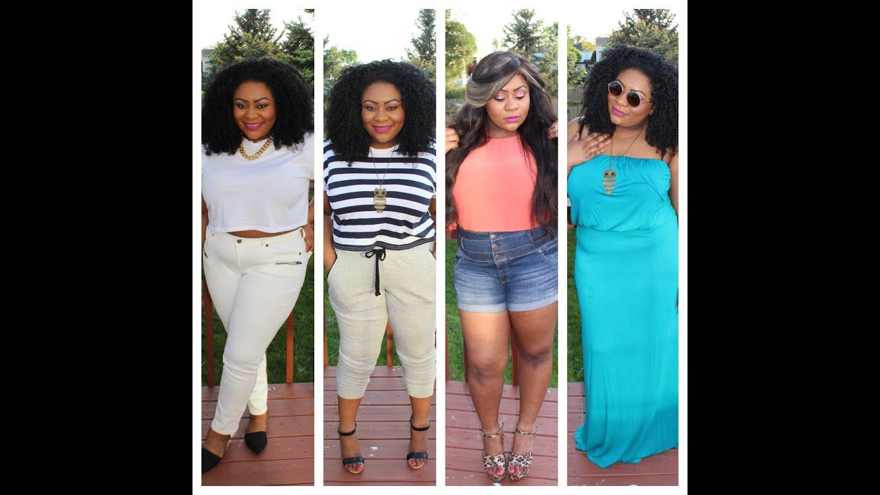Plus size summer dresses white