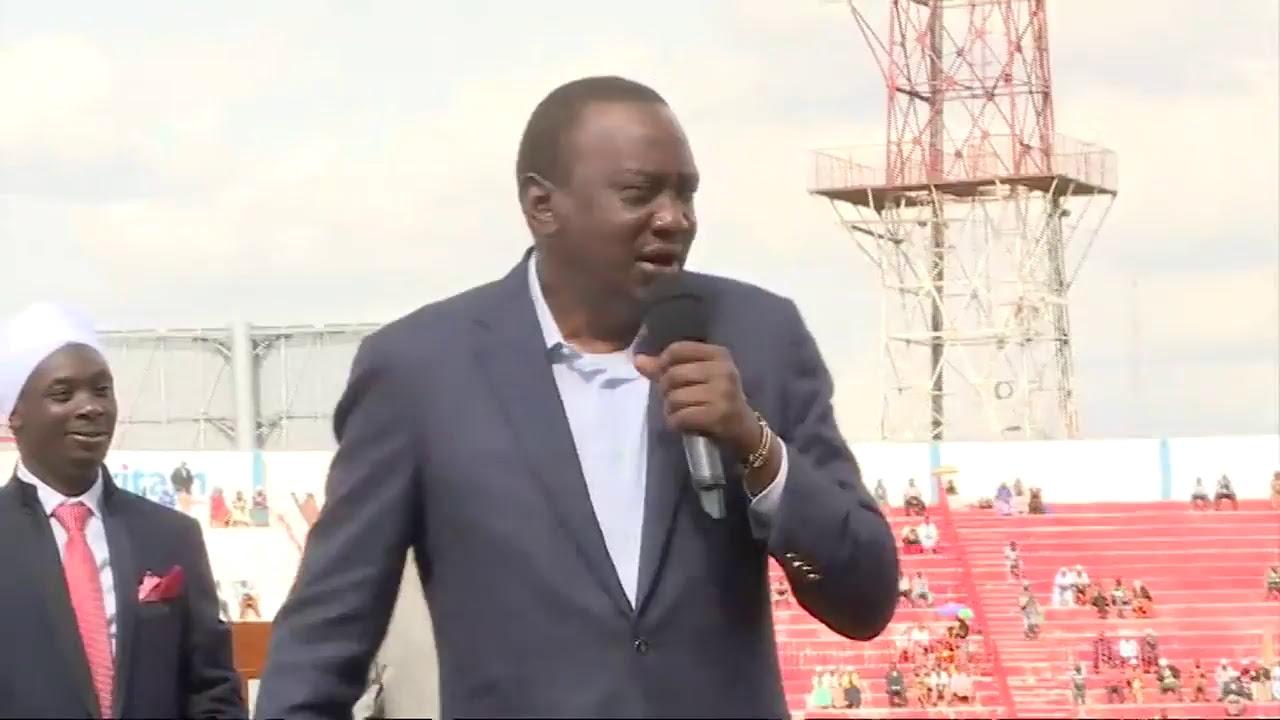 PSCU Kenya -President Kenyatta at Akorino Church by State House Kenya
