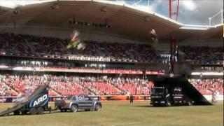 AUSTRALIAN RAMP DESIGN SHOW REEL  SKATE  FMX  BMX