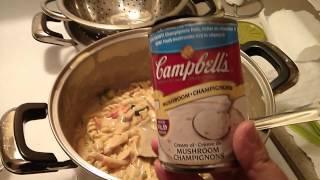 Easy Chicken & Veggie Pasta Dinner!