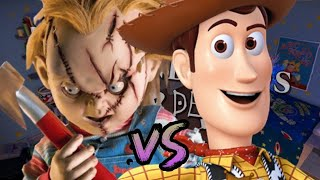 Chucky vs Woody. Duelos Legendarios de Rap de la Historia Season 3 | Zigred Ft.Danster