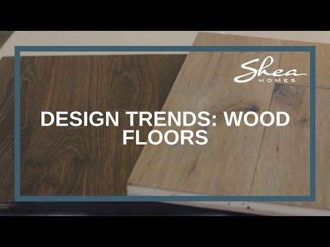 Shea Homes Design Studio: Wood Floors Trend