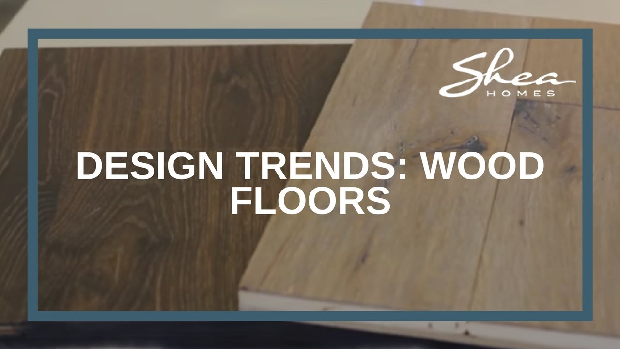 Shea Homes Design Studio: Wood Floors Trend Part 40