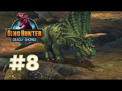Dino Hunter: Deadly Shores #8 - Lost Fortress Unlocked♫♪ |Newbie Gaming