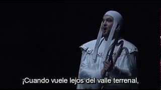 """Ludwig Baumann - """"O du mein holder Abendstern"""" (Subt. Español) - Tannhäuser"""