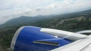 Взлёт Boeing 767-300ER из аэропорта о. Пхукет