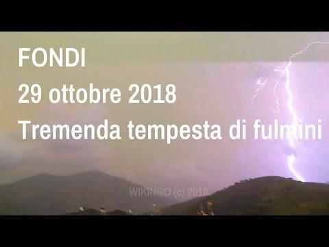 Weather - Lightning Storm on Fondi (Lazio)