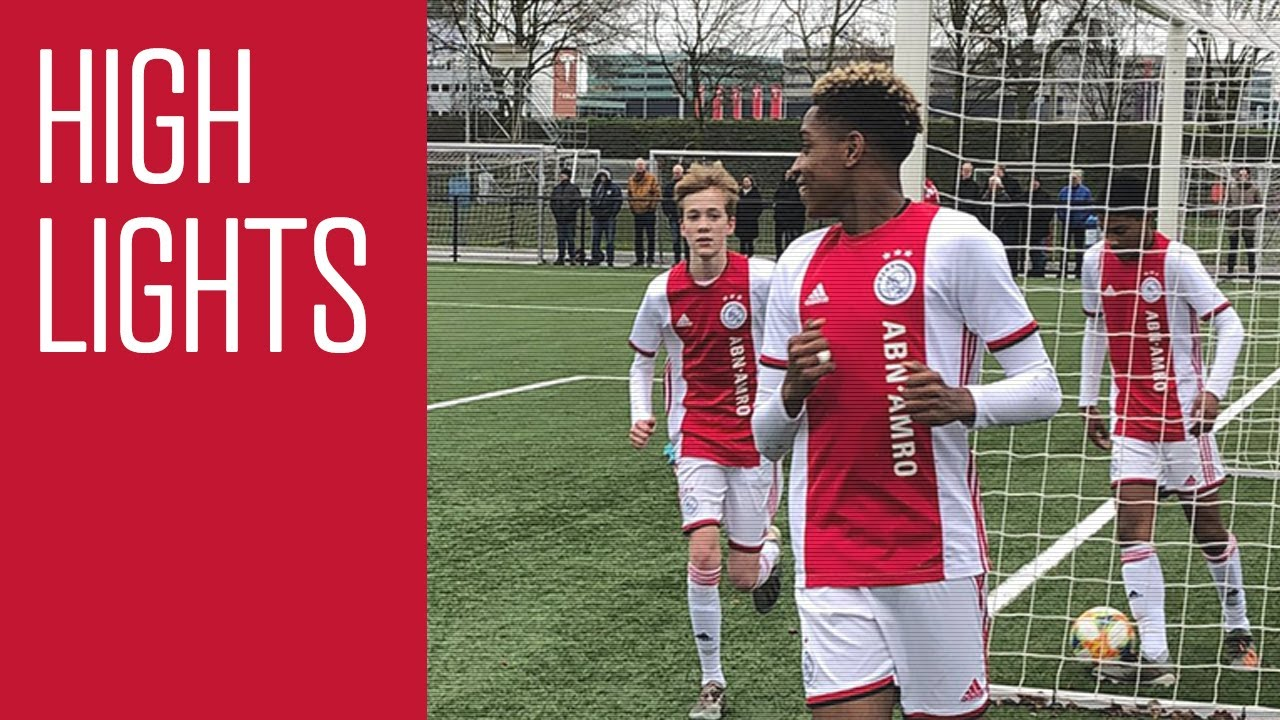 Download Highlights Ajax O16 - FC Utrecht O16 | Kampioenspoule