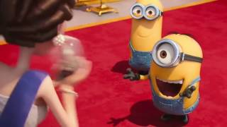 Most funny moment at the movie: Dispicable me 2