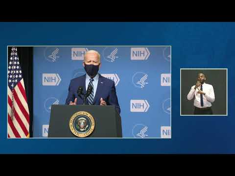 President Biden Delivers Remarks to the National Institutes of Health Staff