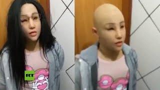 Pandillero intenta escapar de la cárcel disfrazado de su hija