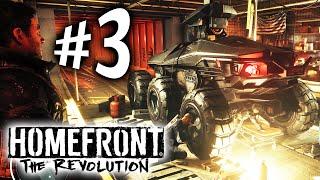 Homefront The Revolution - Parte 3: Roubando o Golias!! [ PC - Playthrough PT-BR ]