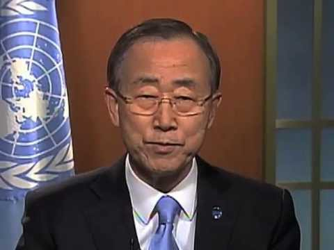 International Year of Water Cooperation 2013 - Secretary-General's Video Message
