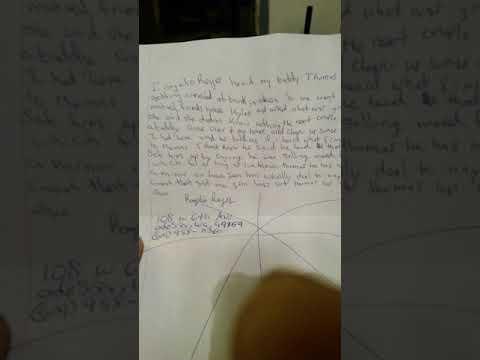 Rodger Reyes statement presented first statement  notary location Washington Federal bank Odessa