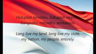 "Indonesian National Anthem - ""Indonesia Raya"" (ID/EN)"