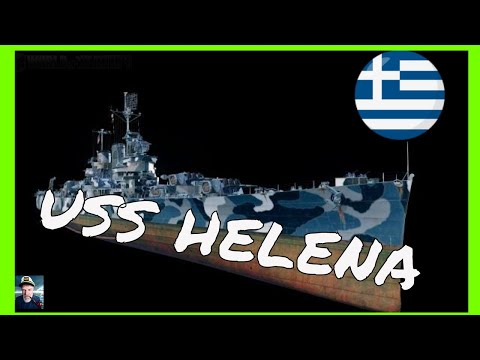 world of warships uss helena greek