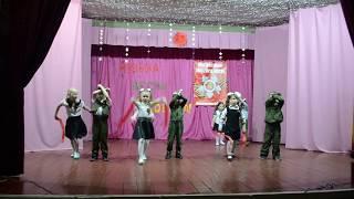 танец Закаты алые выступление детского сада