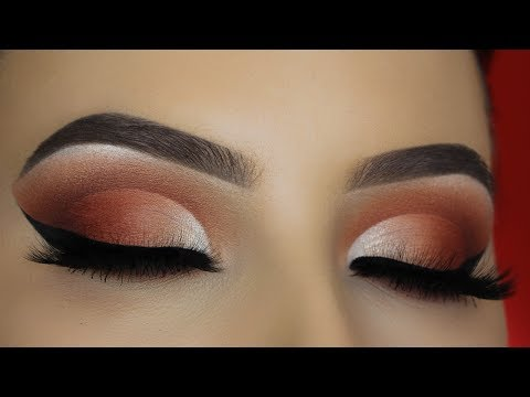 JACLYN HILL X MORPHE PALETTE - Smokey Cut Crease Tutorial