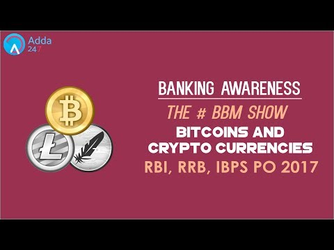 Banking Awareness | Bitcoins and Crypto Currencies | #BBM | Online Coaching for SBI IBPS Bank PO