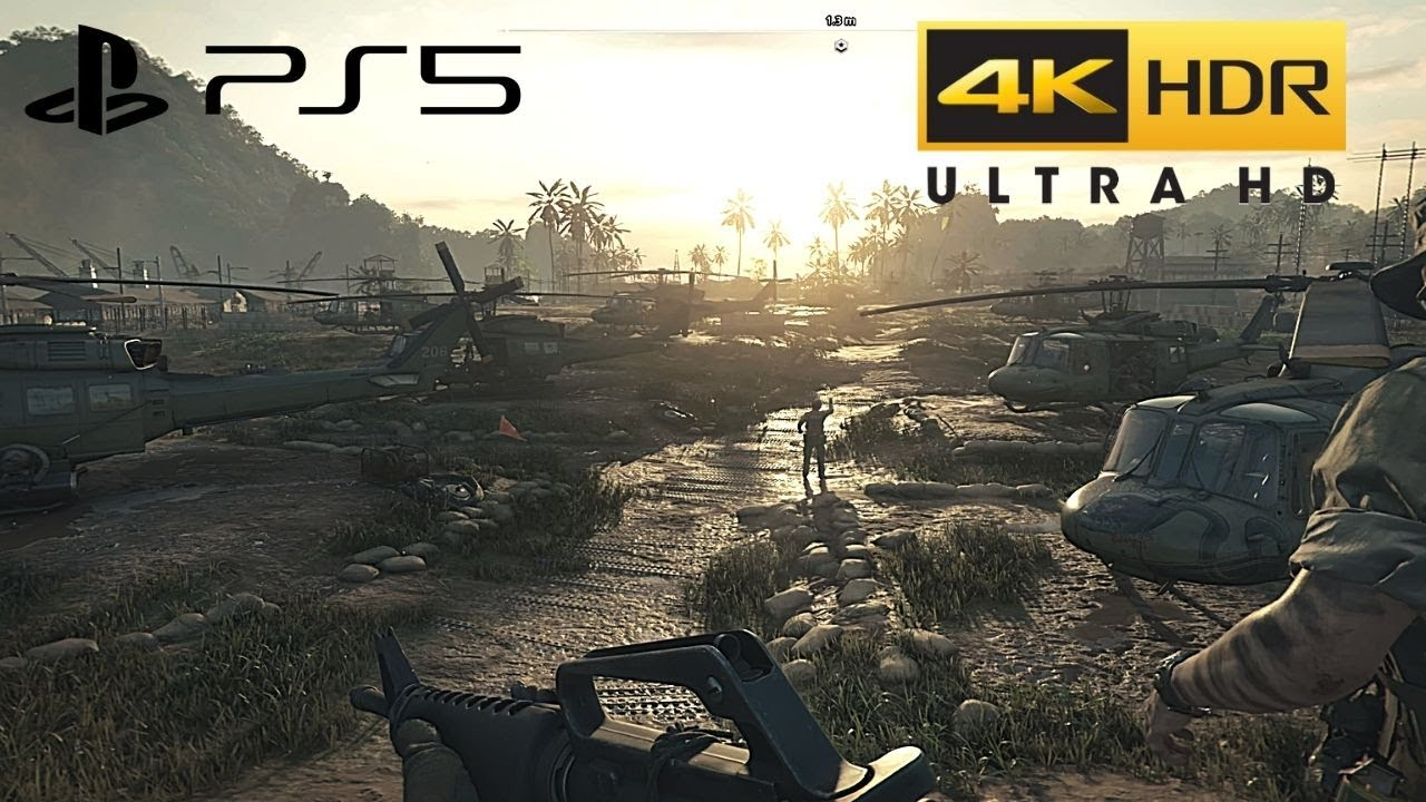 Call of Duty: Black Ops Cold War (PS5) 4K HDR + Ray Tracing Gameplay - 2160p (UHD)